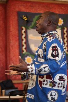 Choir Masterof UK Ghana Methodist Fellowship Choir