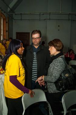 Asi Munisi with Jane Ellison MP