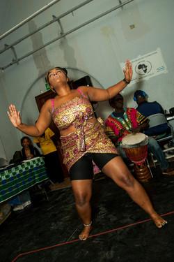 Mama Afrika dances