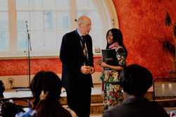 Mayor of Wandsworth with Asi Munisi