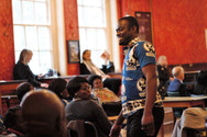 Happy dancing to Tinkez Afro beats