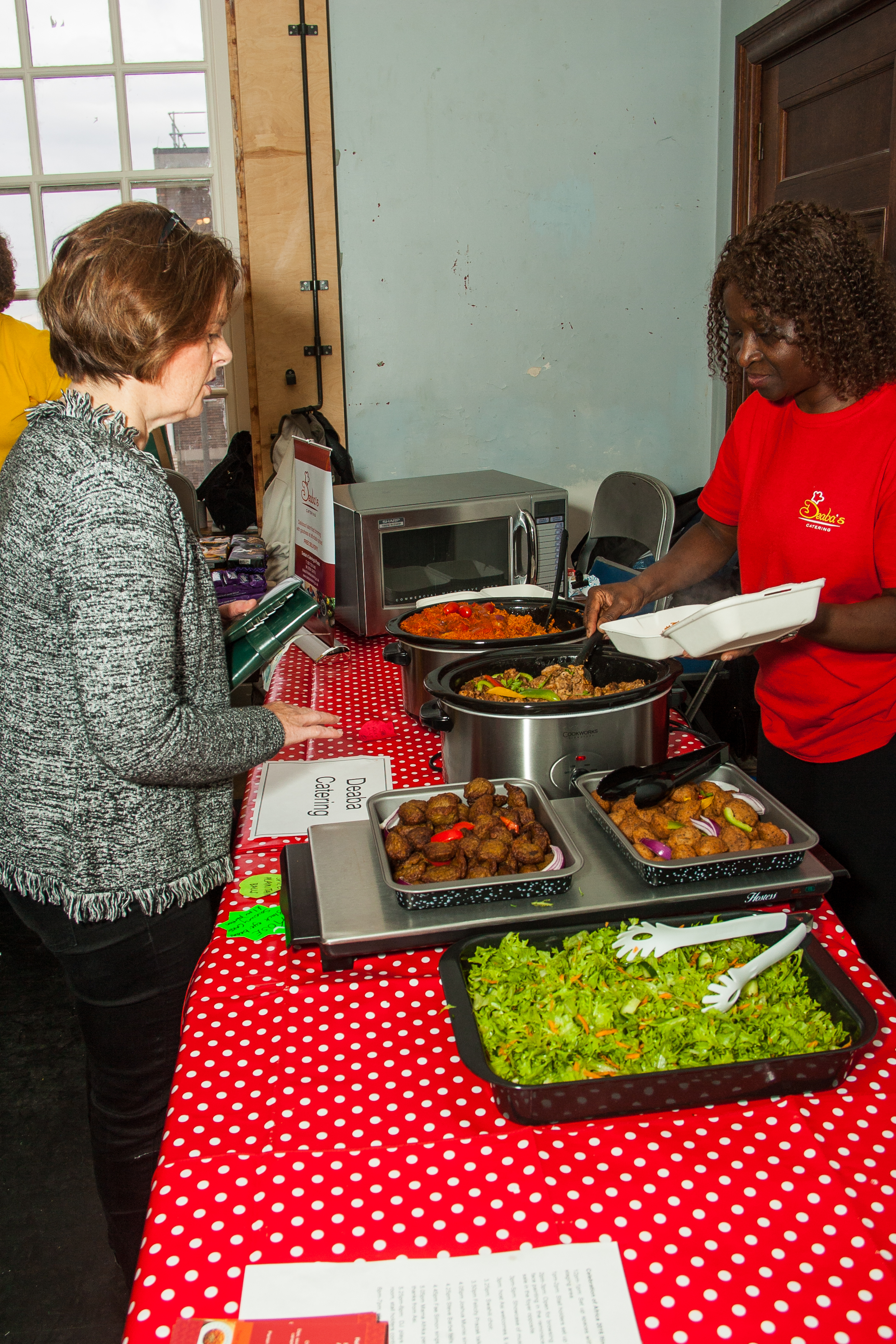 Deaba serves Jane Ellison MP