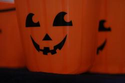 Party bounce pumpkin pot