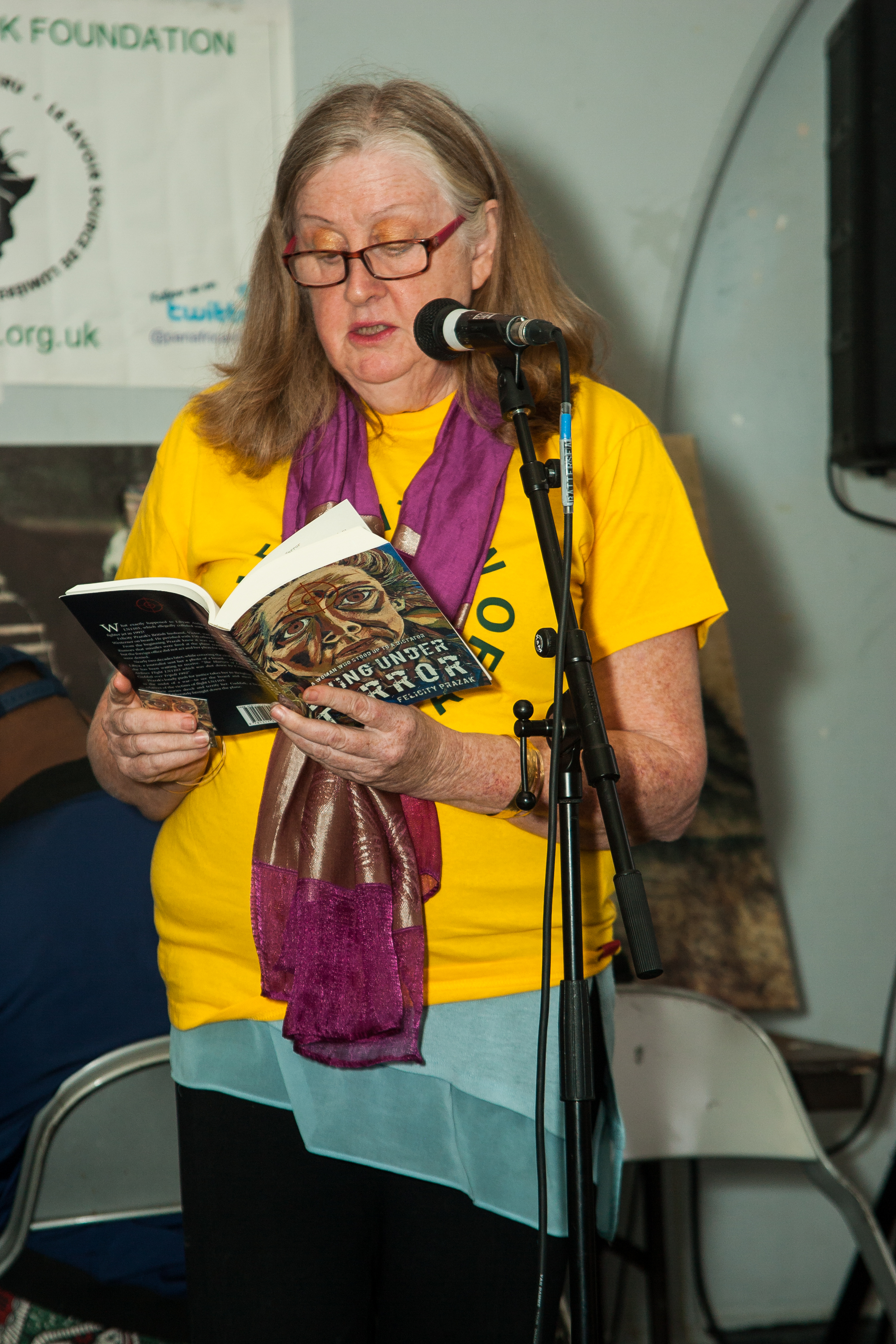 Felicity Prazak reading