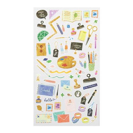 Sticker Stationery I MIDORI