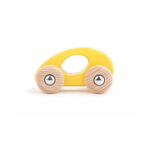 Öko Limousine aus Holz Gelb