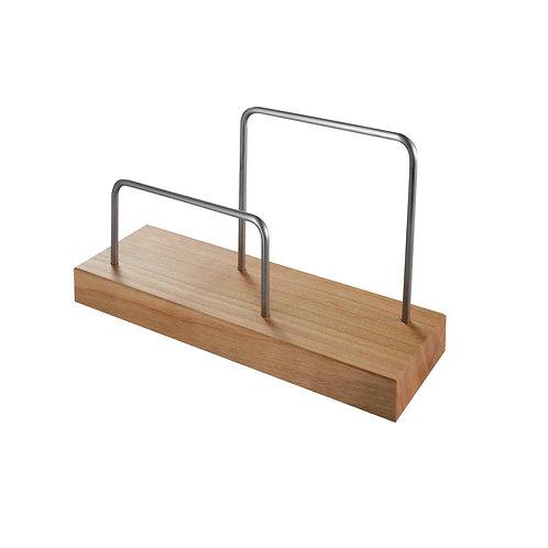Briefständer aus Holz