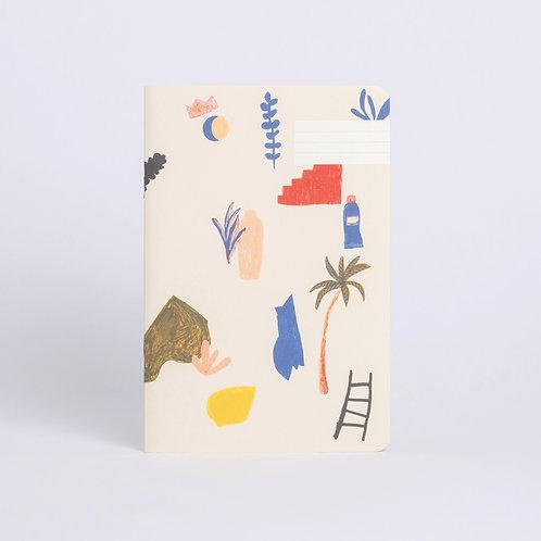 Notizbuch Palette