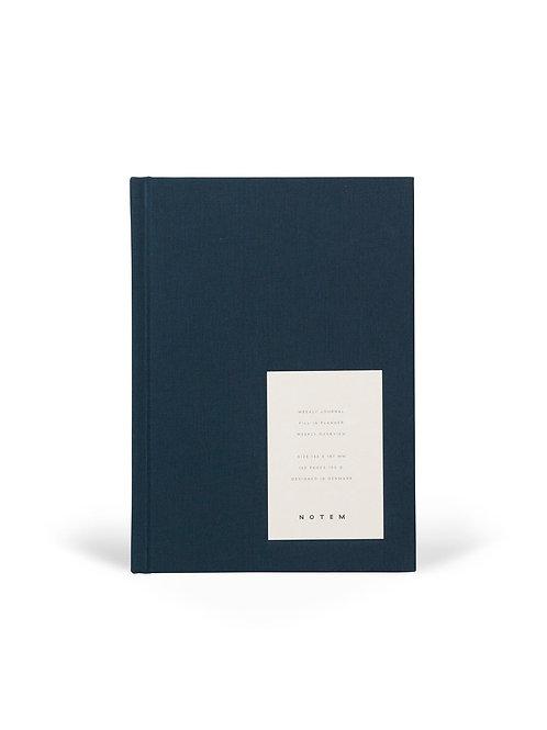 EVEN Weekly Journal Medium Dusty Blue I NOTEM