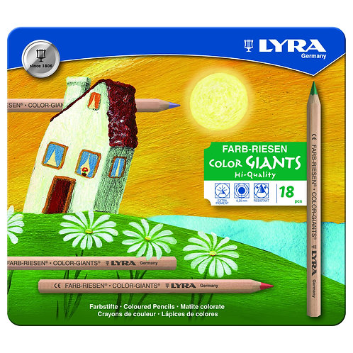 Farb-Riesen im Metalletui | LYRA