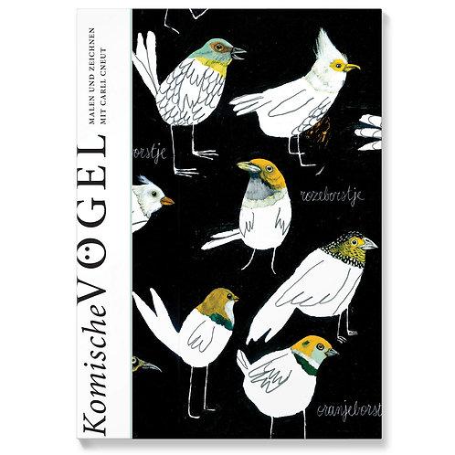 Malbuch Komische Vögel   BOHEM