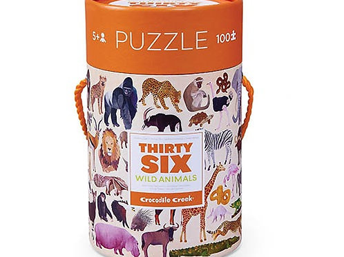 Puzzle Wild Animals I CROCODILE CREEK