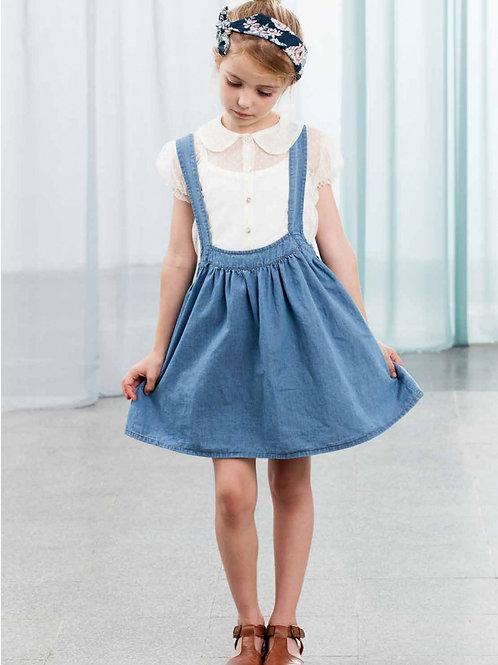 Jeanskleid mit Trägern   Tocoto Vintage