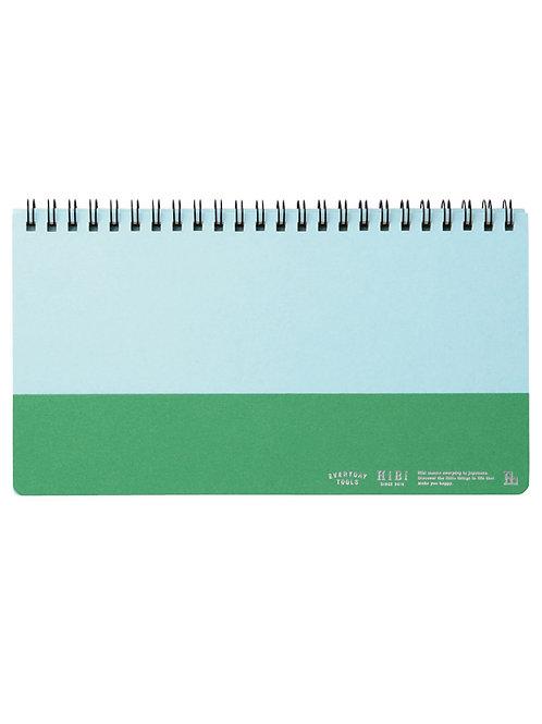 Weekly Planner Green I HIBI