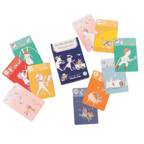 Kartenspiel Happy Families I MOULIN ROTY
