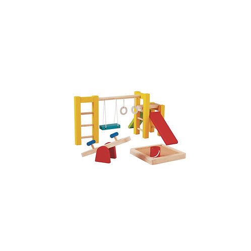 Spielplatz fürs Puppenhaus I PlanToys