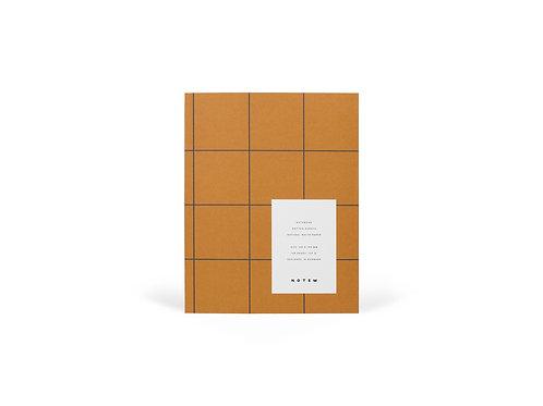 UMA Notebook Medium Ochre I NOTEM