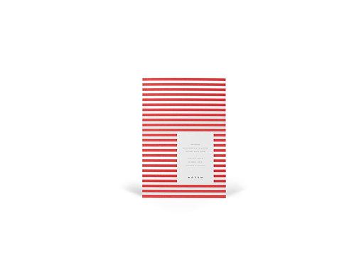 VITA Notebook Small Bright Red I NOTEM