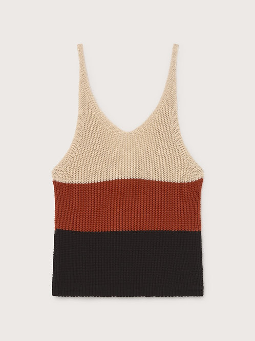 Multicolor Knitted Top I THINKING MU
