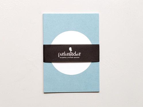 5 Postkarten Punkt Taube | PERLENFISCHER