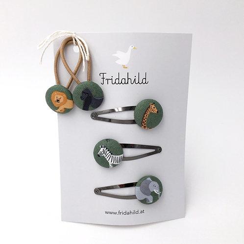 Set Tiere in Afrika grün I Fridahild