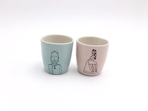 Kleine Tassen I Sissy und Joseph