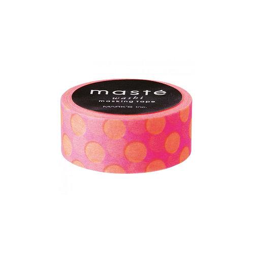 Masking Tape Neon-Pink gepunktet