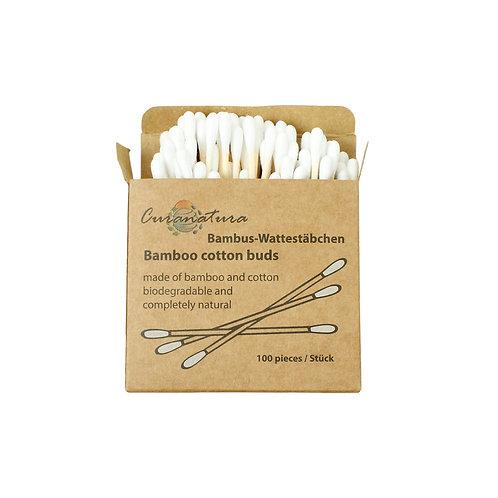 Wattestäbchen Bambus I CURANATURA