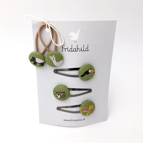 Set Tiere des Regenwaldes I Fridahild
