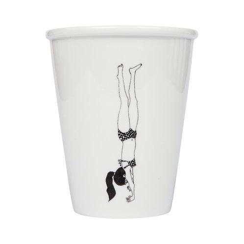 Tasse Handstand girl I helen b