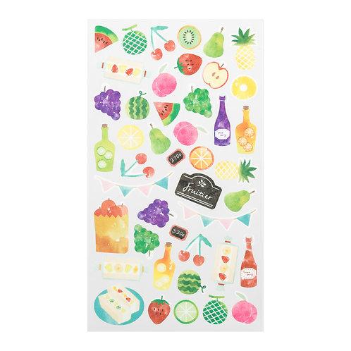 Sticker Fruit | Midori