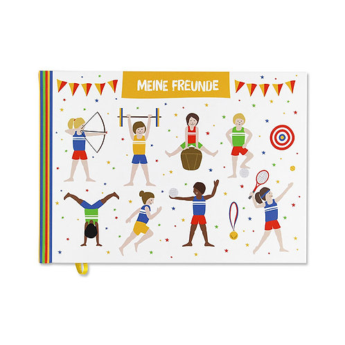 Freundebuch Sport Kids I Ava & Yves