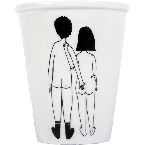 Tasse naked couple back | helen b