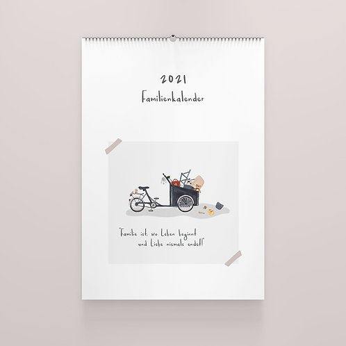 Familienkalender 2021 A3