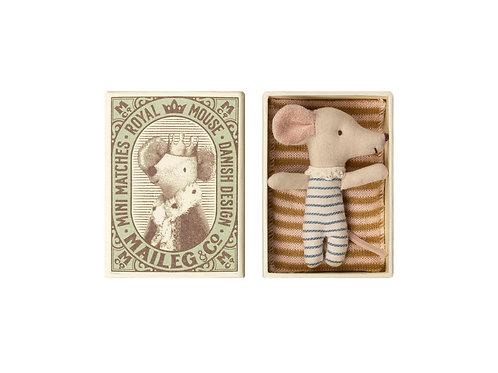 Baby Mäuse Junge in der Box
