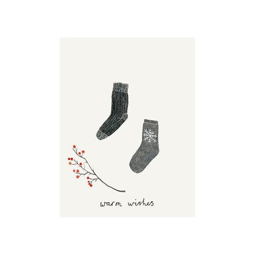 Minikarte Socken
