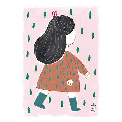 "Print ""Irene"" 50 x 70 cm I Marta Abad Blay"
