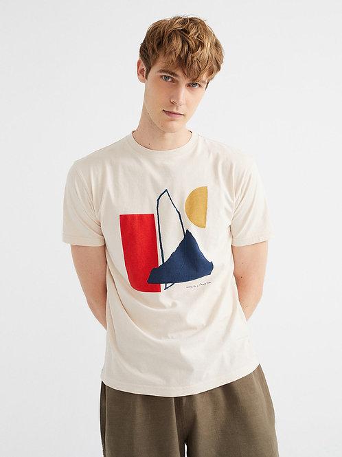 Abstract Bones T-Shirt I THINKING MU
