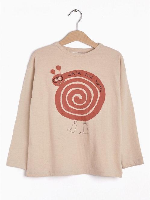 T-Shirt Sasa The Snail I Nadadelazos