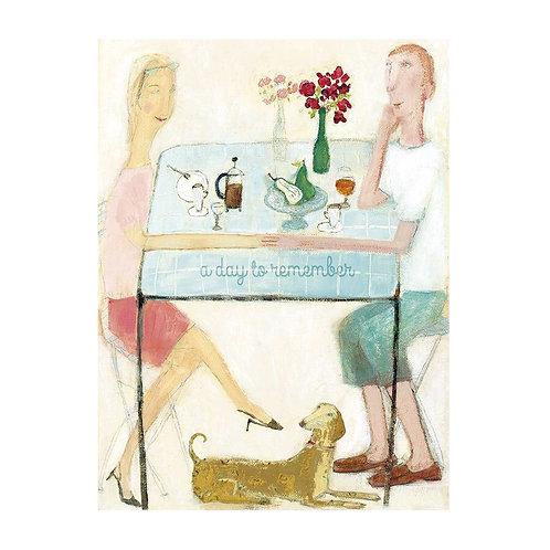 Doppelkarte Mr & Mrs Celebrate I MAILEG