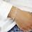 Thumbnail: 925er Silber Doppel-Armband