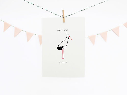 Französischer Storch