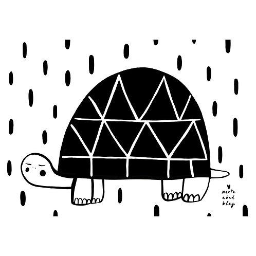"Print ""Turtle"" A3 I Marta Abad Blay"