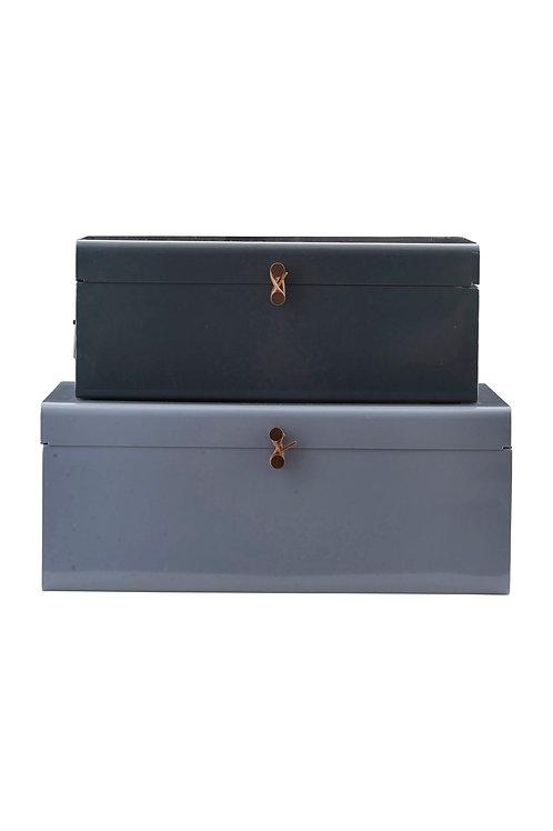 Koffer Set aus Metall I HOUSE DOCTOR