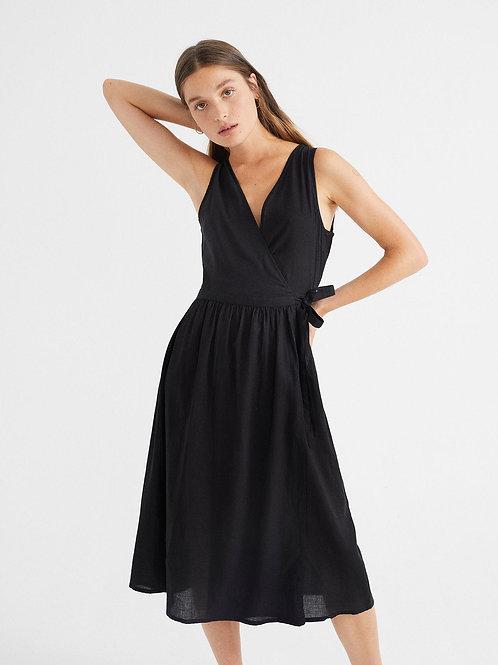 Black Amapola Dress I THINKING MU