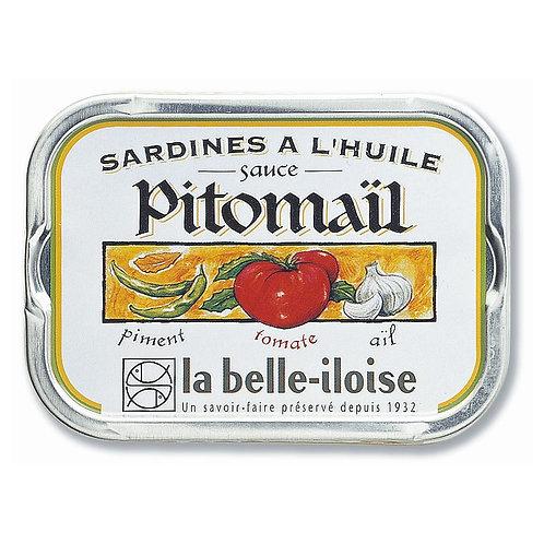 Sardinen Sauce Pitomaïl | la belle-iloise