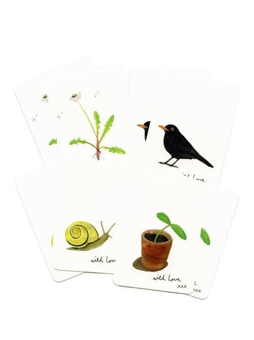 Set Minikarten Garten