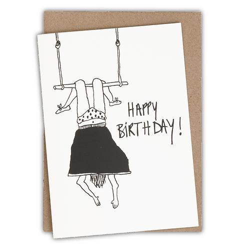 Happy birthday trapeze girl | helen b