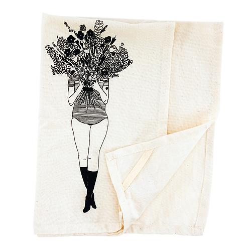 Geschirrtuch Blumen I helen b