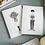 Thumbnail: Notizbuch Set Flower girl & flower man I helen b